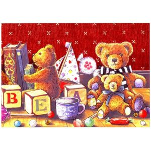 0453 Teddies with Toys and Sweets