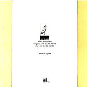 0468 Box & Teddy Praying – Heron – Dufex