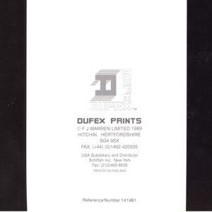 0709 A Victorian Street – Heron – Dufex