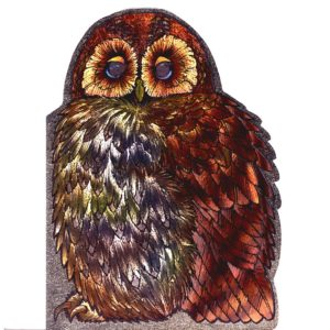 4076 Large Owl – by Heron Dufex