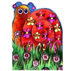 4166 Snail – by Nikki Golesworthy