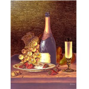 6540 Champagne and Strawberries – by Roy Hodrien