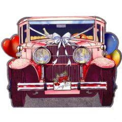 6607 Diecut: Wedding Cadillac