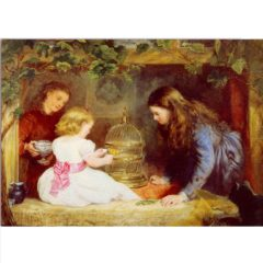 ES07 The Pet – by John Alfred Vinter 1828-1905