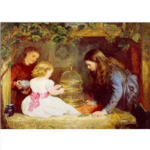 ES07 The Pet – by John Alfred Vinter 1828-1905