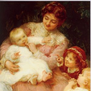 ESL01 The First Tooth – by Frederick Morgan 1856-1927