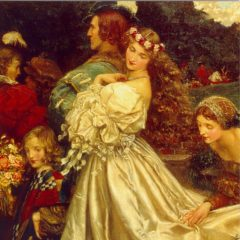 ESL08 The Uninvited Guest – by Eleanor Fortescue Brickdale 1871-1945