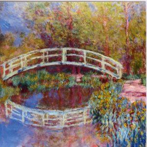 ESL09 Le Pont Japonais Dans Le Jardin De Monet 1840-1926