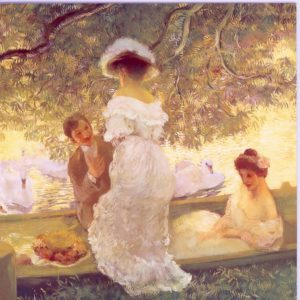 ESL18 The Boating Party – by Gaston La Touche 1854-1913