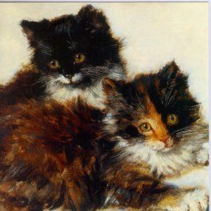 ESL23 Kittens – by Henriette Knip-Ronner 1821-1909