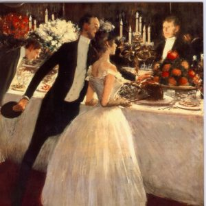 ESL26 The Buffet 1884 – by Jean Louis Forain 1852-1931