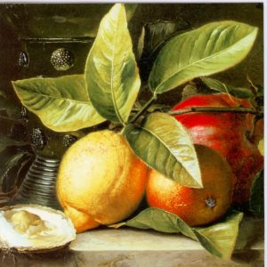 ESL30 Still Life of Lemons – by Anton Weiss 1801-1851