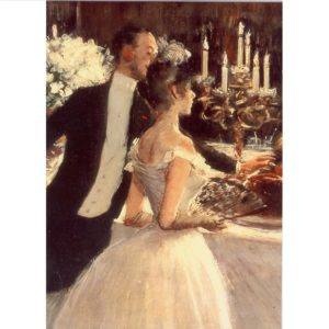 FA06 The Buffet 1884 – by Jean Louis Forain