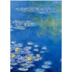 FA14 Water Lilies – by Claude Monet