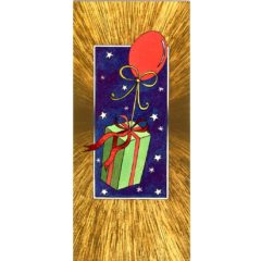 S03 Gift Parcel on Balloon – Heron – Dufex