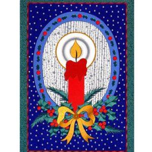 0716 Christmas Candle – Heron – Dufex