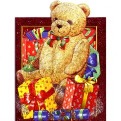 4153 Teddy Bear and Presents