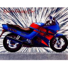 6573 Motor bike Honda CBR