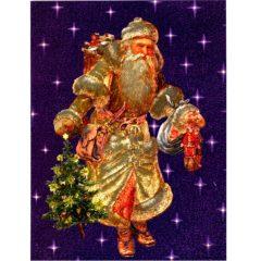 6651 Victorian Santa