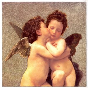 7004 The First Kiss – by William Bouguereau