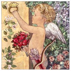 7005 Cupid at the Door by Jacqueline Fenton