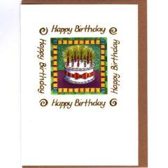 8104 Birthday Cake – by Julie Oldham