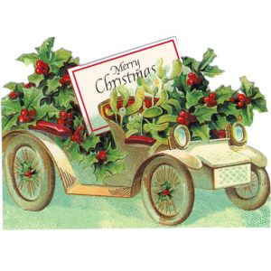 GEC46 Mistletoe and Holly Car @ Brian Paterson