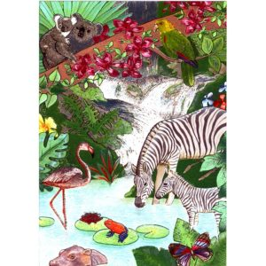 P1255 Paradise Animal World – Published by F.J. Warren Limited