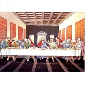 P1332 The Last Supper – Published by F.J. Warren Limited