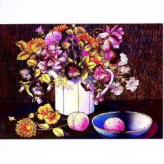 P1378 Various Flowers in Vase