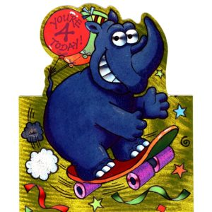 1026 HB4 Rhino on Skateboard – Heron – Dufex