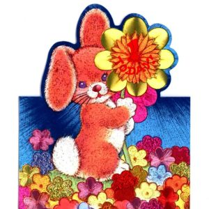 1033 HB1 Rabbit and Flowers – Heron – Dufex