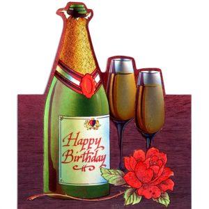 1036 HB Champagne & Glasses – Heron – Dufex