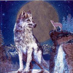 7087 Wolf Moon – by David Penfound International Artworks