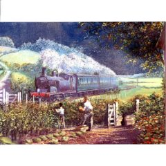 3671 Train & Gardeners – by Rob Johnson