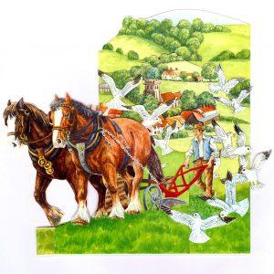 BYG2 Ploughing – Horses