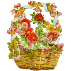 FB11 Floral Basket