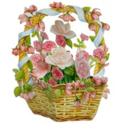 FB12 Rose Basket