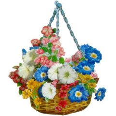 FB13 Hanging Flower Basket