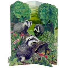 NH1 Badgers at Play