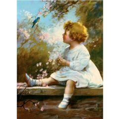 4050 0022 Song of the Bluebird – by Zula Kenyon
