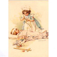 4050 0249 A Red Cross Nurse – by Maud Humphrey