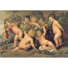 4050 1274 The Fruit Wreath – by Peter Paul Rubens