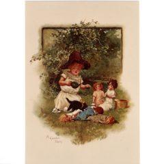 4050 2123 A Garden Party – by Harriet M. Bennett