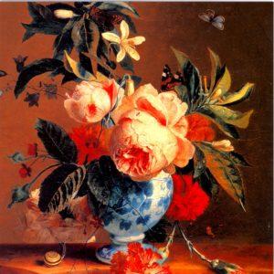 OCG3019 A Vase of Flowers – by Michiel van Huysum
