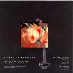 OCG3019 A Vase of Flowers – by Justus van Huysum