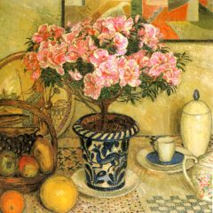 OCG302 Still Life with an Azalea – by Leon Smet