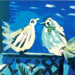 OCG3024 The Pigeons, Cannes 1957 – by Pablo Picasso