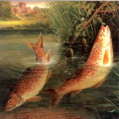 OCG3026 Trout at Winchester – by Thomas Valentine Garland