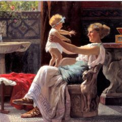 OCG3032 Mother's Darling – by Guglielmo Zocchi